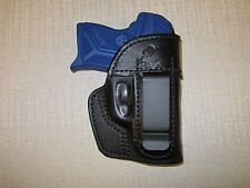 RUGER LCP 2, IWB, formed leather holster, right hand WITH SWEAT SHIELD
