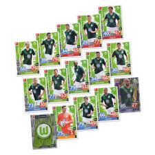 Match Attax 2018 2019 VfL Wolfsburg Basiskarten Starspieler Clubkarte 15 Karten