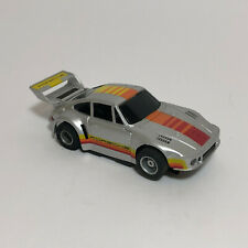 TYCO Porsche 935 Turbo Silver Older Color Slot Car