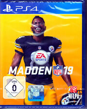 Madden NFL 19 PS4 Spiel (Sport,American Football) NEU