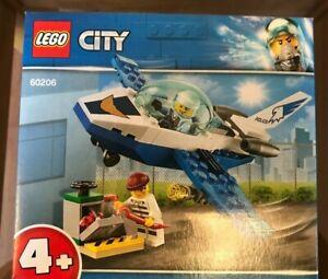Lego 60206 City Sky Police jet patrol 54 pieces age 4 +  ~Brand NEW ~