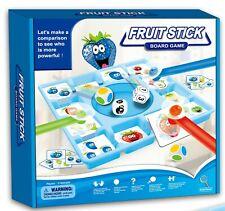 Juego de mesa Frutas Multicolor Juguete Educativo de tablero para niños familia