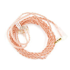 0.75mm Gold-plated B/C Pin Earphone Cable for KZ-ZST/ES4 KZ-ZSN with Mic Fine