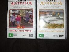 2 DVD Leyland's AUSTRALIA Episode 1 Brisbane 12 Kingston to the Twelve Apostles