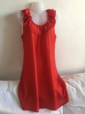 Pretty Ladies Red Summer 'I Love H81' Forever 21 Summer Slip Dress Size Small