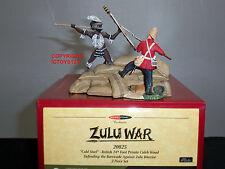 Britains 20025 Zulu war Modelzone COLD STEEL British difendendo BARRICATA Set