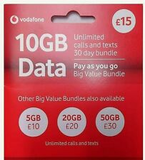OFFICIAL LATEST UK VODAFONE Sim Card Pay As You Go PAYG STANDARD MICRO NANO NEW