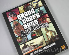 Grand Theft Auto GTA San Andreas Official Games consultant solution in German