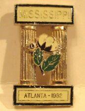 1982 Mississippi Lions Club Pin #219