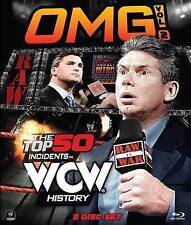 WWE: OMG!, Vol. 2: The Top 50 Incidents in WCW History (Blu-ray) New & Sealed