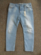 DIESEL Eazee relaxed boyfriend low waist jeans size W29 L30 light blue brand new