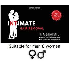 Intimate Hair Removal - Depilazione perfetta parti intime 2CONFEZIONI/2PACKS