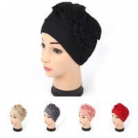 Lady musulmane cancer de la chimio Hat bonnet écharpe turban tête Wrap chapeau