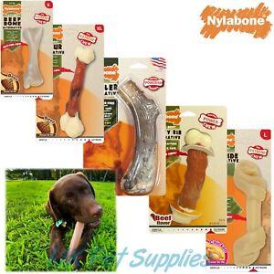 Nylabone Nylon Bone Extreme Animal Alternative Tough Dental Durable Dog Chew Toy