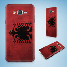 SAMSUNG GALXY J SERIES PHONE CASE BACK COVER|ALBANIA COUNTRY FLAG