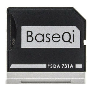 "BASEQI Aluminum 100% Hidden microSD Adapter for Dell XPS 13"" 9360 - iSDA731A"