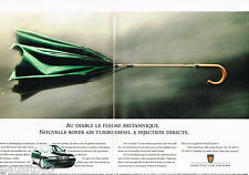PUBLICITE ADVERTISING 065  1995  La ROVER 620 TURBO DIESEL  ( 2 pages)