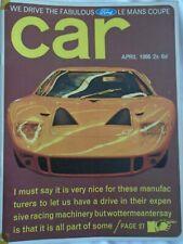 Car Apr 1966 Ford GT40, Lotus Cortina Cosworth, BMW 1800 Ti