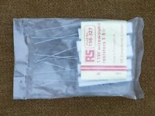RS 11W Ceramic wire wound resistors, 1R5, 1.5 ohm, 10%, NEW, packs of 5