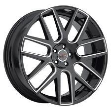 "18"" Milanni 9022 Virtue Milled Spoke Wheel 18x8 5x4.5 20mm Ford Jeep 5 Lug Rim"