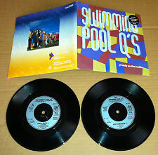 SWIMMING POOL Q'S Pretty On the Inside LIMITED DOUBLE 7 INCH Vinyl USA Seller