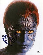 """Rebecca Romijn as Mystique X Men REAL hand SIGNED 8x10"""" Photo #1 JSA COA X-Men"""