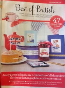(B) 47 Best Of British Designs For Cards And Gifts Cross Stitch Chart