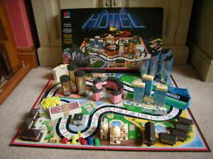 HOTEL Board Game - Spare Game Pieces & Parts, MB Games 1986