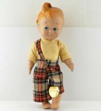 Antique The Good Habit Kids House of Puzzy Sizzy Composition Doll character tag