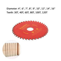 """4""""~14"""" Circular Saw Blade Carbide Tipped Tooth Cutting Disc for Woodworking Tool"""