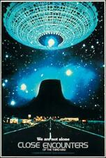 Close Encounters of the Third Kind Movie Poster 27 x 40 Richard Dreyfuss, H