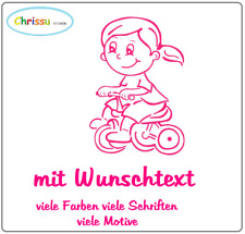 Autoaufkleber Kinder Baby Namenaufkleber Prinzessin Geschwister children 1/65