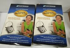 - lot of 2 Plantronics S12 Telephone Headset System