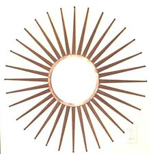 SUPERB  90CM CONTEMPORARY XL SUNBURST starburst GOLD  MIRROR 90cm diameter  NEW