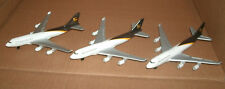 Three 1/475 Scale Boeing 747 United Parcel Service Cargo Jet Model UPS Airplane