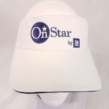 On Star by GM Visor hat General Motors Strapback navigation adjustable white Y8