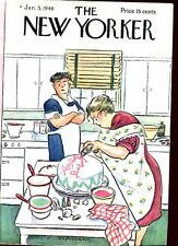 THE NEW YORKER MAGAZINE Jan 5 1946 Hokinson cover Perelman Cheever Genet