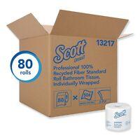 Scott 1100 Unscented Bath Tissue Bonus Pack 1-ply 36 Rolls 1100 Sheets Per Roll