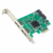 IOCrest PCI-E 2 Interface 4-Port SATA Controller Card w/88SE9230 Chipset