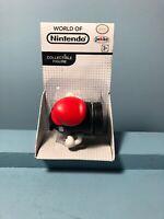"World of Nintendo Super Mario Captured Bullet Bill 2.5"" Action Figure Jakks"