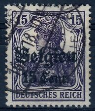 === DR Belgien Mi. 16a gest., gepr. BPP, Kat. 30€ ===