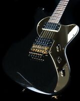 2012 GMP USA Cheetah Special Black Gold Sparkle Solid Body Mint OHSC Guitar*215
