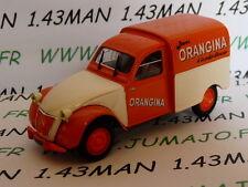 voiture 1/43 Norev citroën 2 CV fourgonette ORANGINA