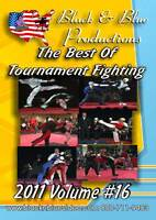 2011 Volume 16 Best of Fighting and Sparring Competition DVD 2 hrs long