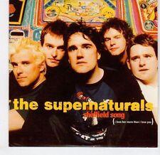 (EL361) The Supernaturals, Sheffield Song - 1998 DJ CD