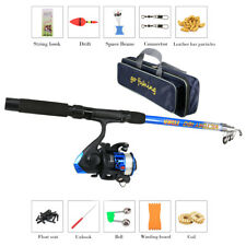 Fishing Rod Suit Sea Pole Combo Telescopic Storage Bag Suit For Beginners