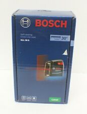 Bosch Professional Gll 30 S Self-Leveling Cross-Line Laser - New - Sealed