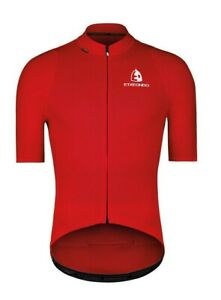 Etxeondo Batu Men's Cycling Jersey in Red - Size XL - Made in Spain