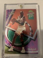 Michael Jordan Power in the Key
