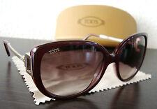 TOD'S TO 113 69Z Luxus Damen Sonnenbrille Brille Sunglasses Gold NEU mit ETUI